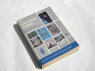Vintage ARRL The Radio Amateur's Handbook 1978 shortwave schematics+