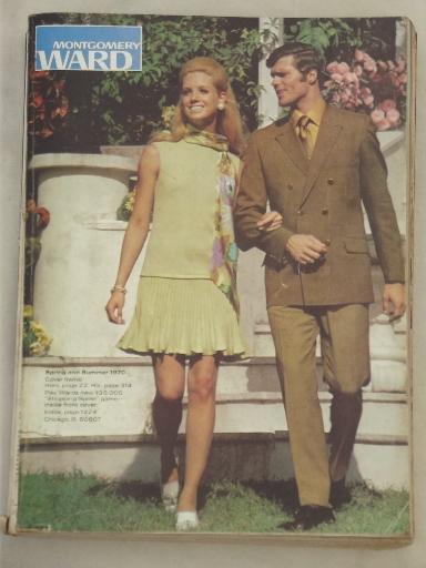Vintage montgomery ward cataloge