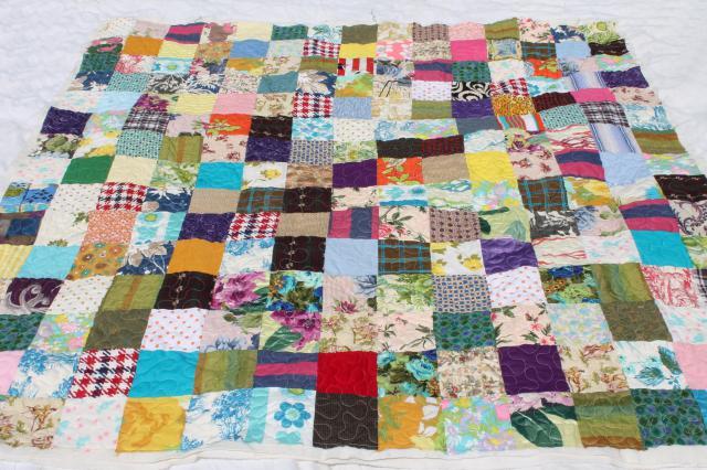 vintage bohemian patchwork quilt, hippie boho retro colorful print ... : patchwork quilt material - Adamdwight.com