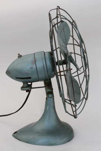 Vintage Diehl Electric Fan In Working Condition