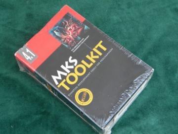 Vintage early computer programming software MKS Tookit, mint!