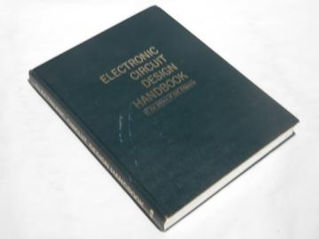 Vintage electronic engineer circuit design handbook, diagrams/schematics etc