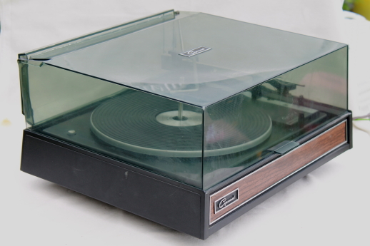 vintage garrard automatic turntable 42m working record player w paperwork. Black Bedroom Furniture Sets. Home Design Ideas