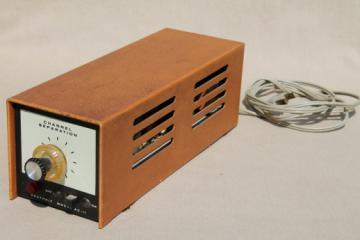 Vintage Heathkit AC-11B channel separator, vacuum tube multiplex adapter for HI-FI FM stereo