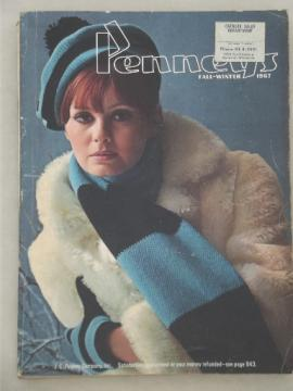 Vintage J C Penney catalog, Fall - Winter 1967 Penney's big book