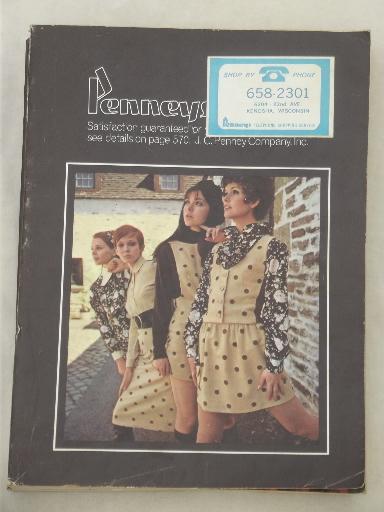 Vintage J C Penney Catalog Fall Winter 1968 Penney S