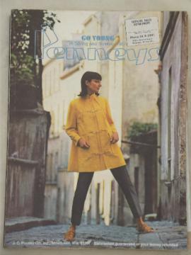 Vintage J C Penney catalog, Spring Summer 1967 Penney's big book