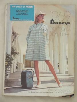Vintage J C Penney catalog, Spring Summer 1969 Penney's big book
