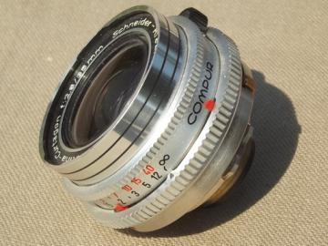 Vintage Kodak Retina-Curtagon f:2.8/35mm Compur camera lens
