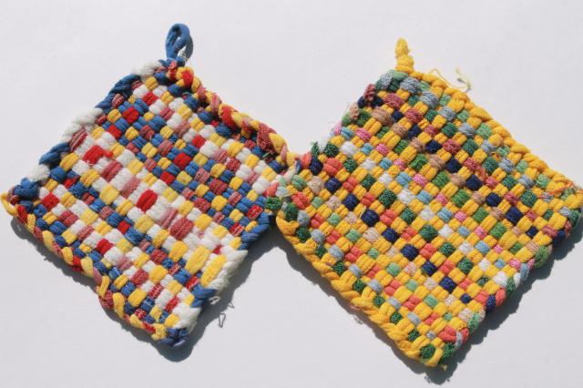 Old Fashioned Pot Holders