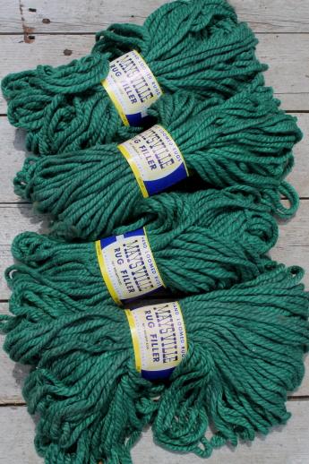 Vintage super bulky yarn