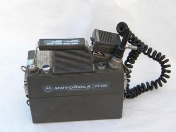 Vintage Motorola PT300 Handie-Talkie radio transceiver for parts