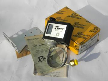 Vintage new-old-stock Ranco 010-1402 industrial pressure control switch