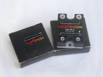 Vintage NOS Opto 22 120D solid state relays w/unused original boxes