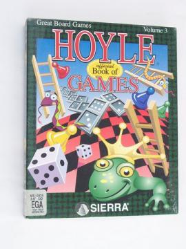Vintage PC video game Hoyle Great Board Games w/ original box