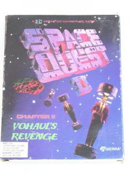 Vintage PC video game Space Quest II Vohaul's Revenge/original box