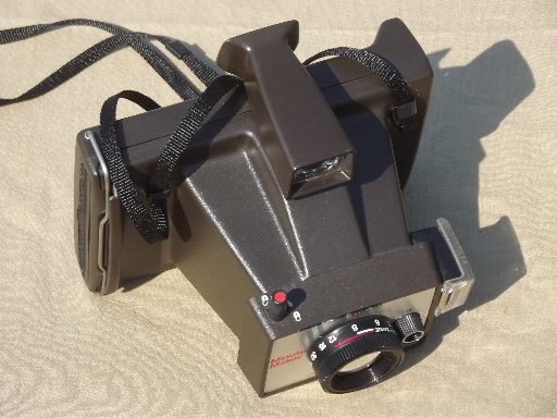 Vintage Polaroid cameras, Polaroid OneStep Closeup and Minute Maker Colorpack