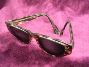 Vintage Ray Ban  catseye sunglasses/eyeglasses frames, faux tortoise shell
