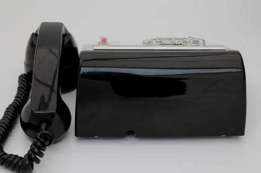 ... rotary dial multiline phone, Stromberg-Carlson bakelite telephone