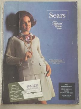 Vintage Sears catalog, Fall - Winter 1968 Sears big book