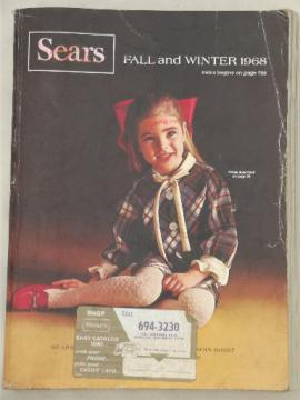 Vintage Sears catalog, Fall and Winter 1969 Sears big book