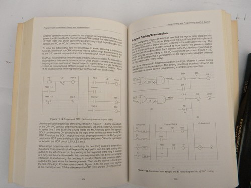 Vintage textbook on programming industrial controllers / PLCs