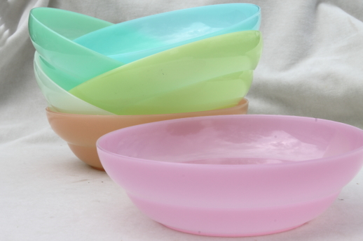 Vintage ekco peint tupperware