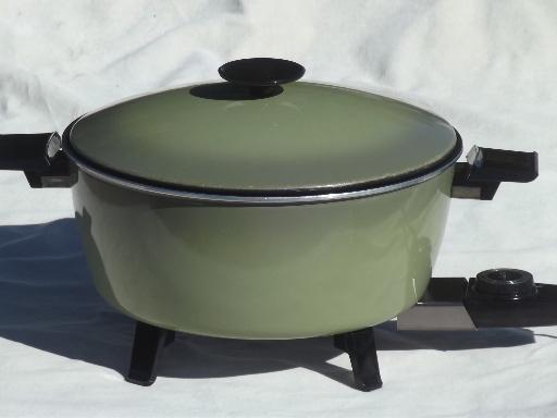 Electric Frying Pan No Teflon