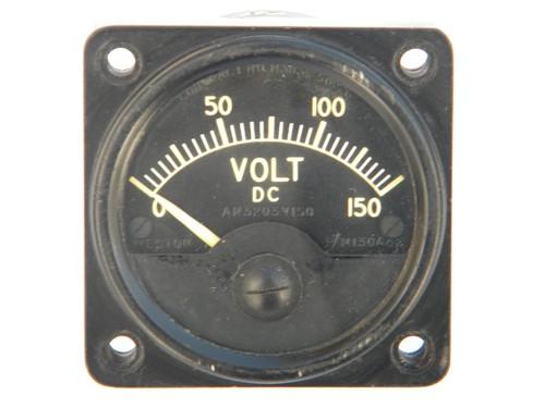 Commercial Electric Volt Meters : Vintage weston model industrial dc volt electric panel
