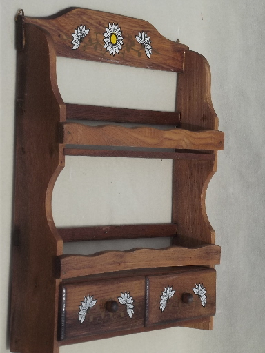Wood Spice Rack Wall Mount Power Planer Blades American